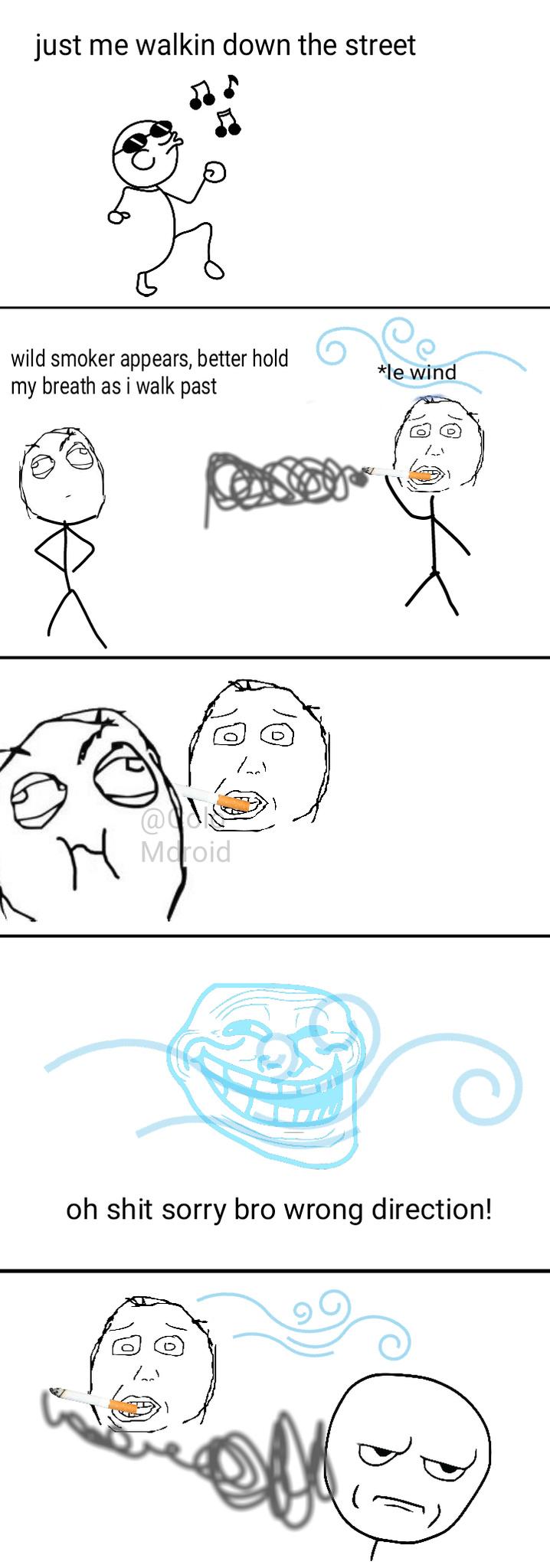 SMOKIN' - meme