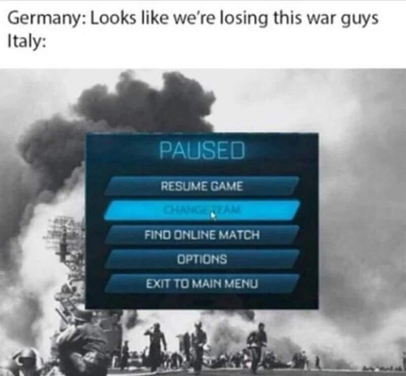 WW 1 - meme
