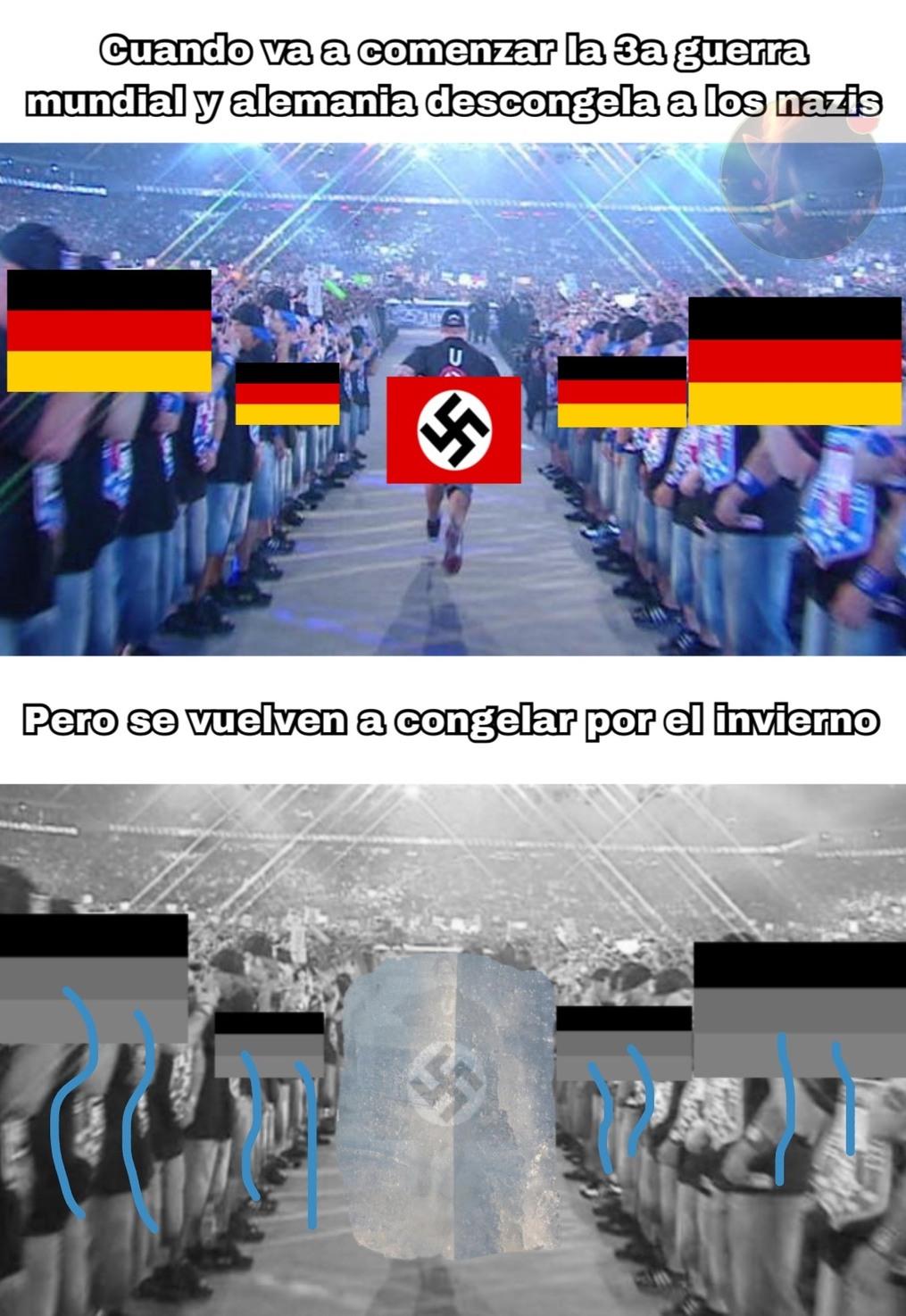 Lisa: no se dejen engañar, es solo otro meme sobre la 3a guerra mundial.  smithers: pero la idea es nueva