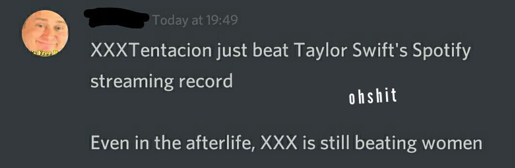 xxx big bad, music aightt tho - meme