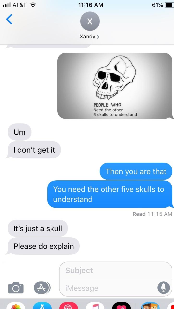 my friend doesn't understand - meme