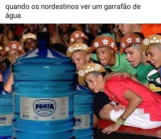 Agua prata - meme