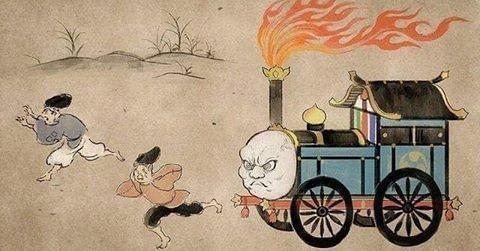 Thomas, a charrete, está deveras enfurecido. - meme