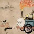 Thomas, a charrete, está deveras enfurecido.
