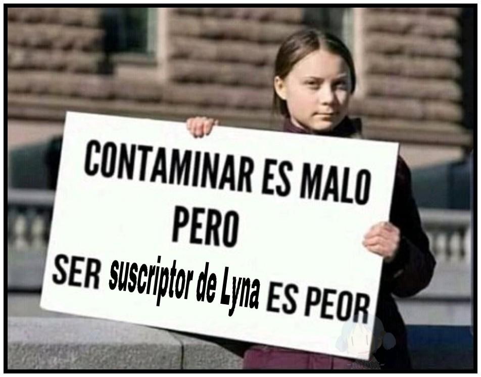 hola soOoy lyna - meme