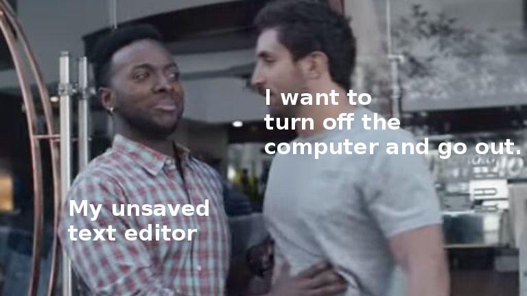 text editor - meme