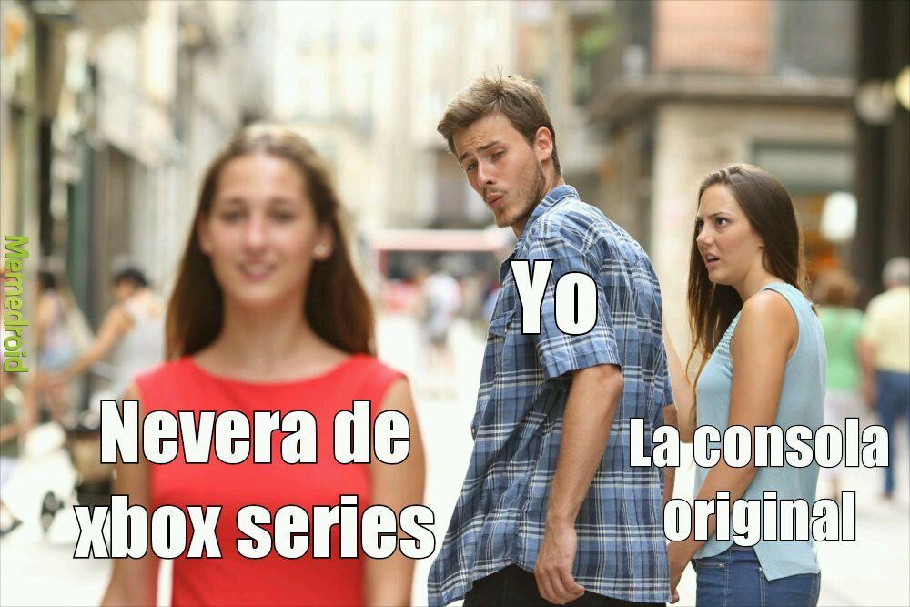 A cuanto están las neveras de xbox - meme