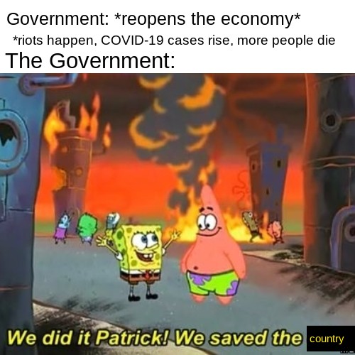 Our government is so stupid smh - meme