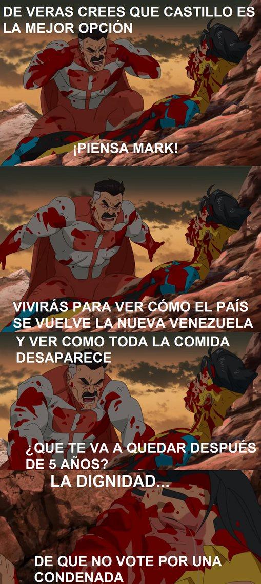 Sea izquierda o derecha, el Perú se va derechito a la m... - meme