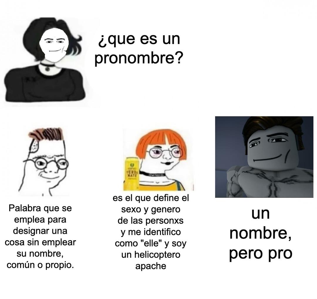 no juego roblox pero, q pro :robloxcara: - meme