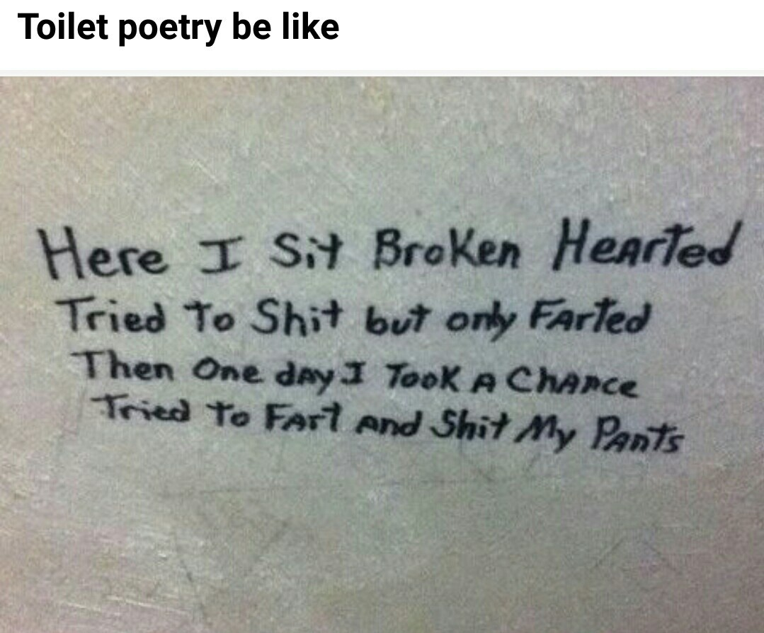 Such poetry - meme