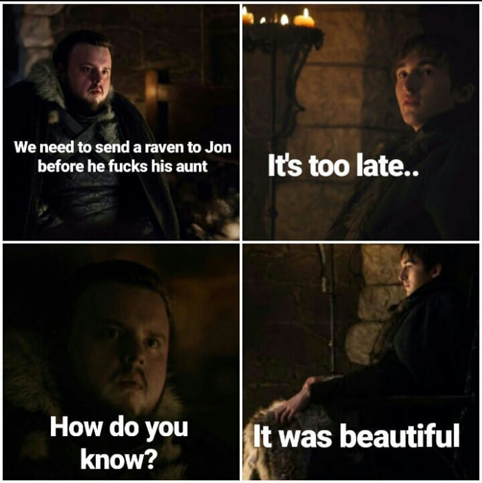 Bran knows - meme