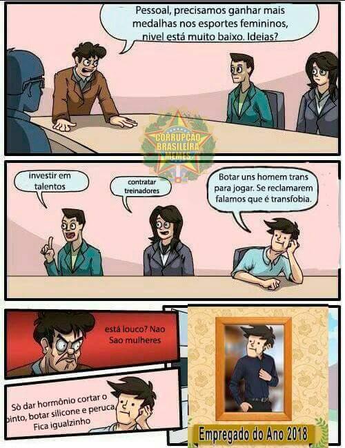 Melhor funcionário - meme