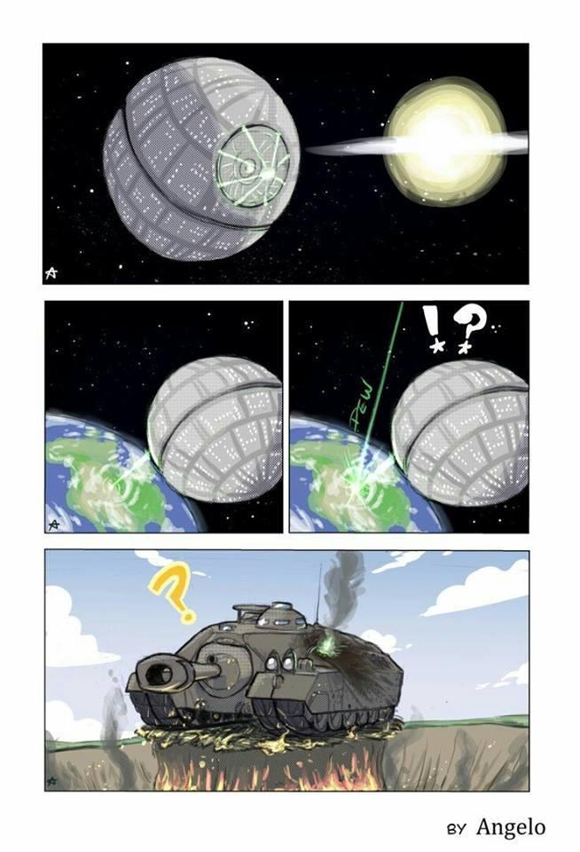Tank power! - meme
