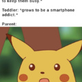 Don't let children use your smartphone