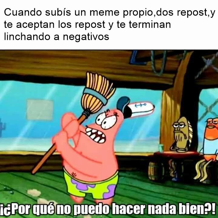 Rechacen si es repost - meme