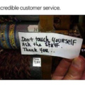 Awesome customer service