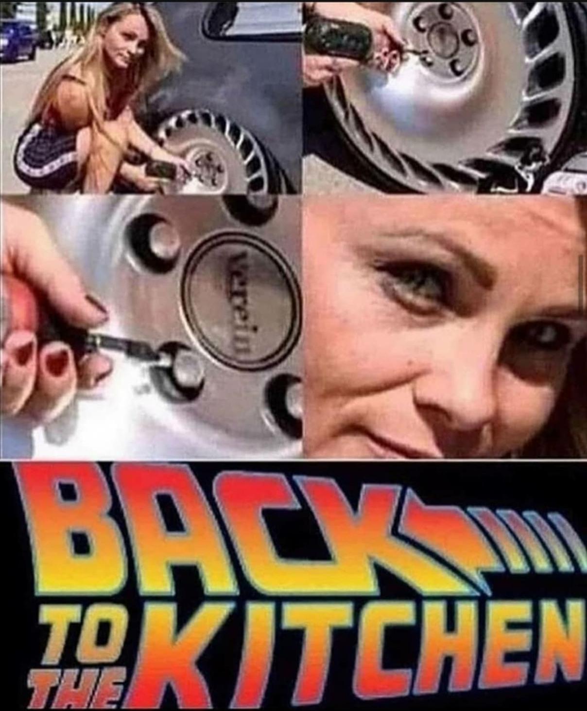 Back to theee kitcheeeen - meme