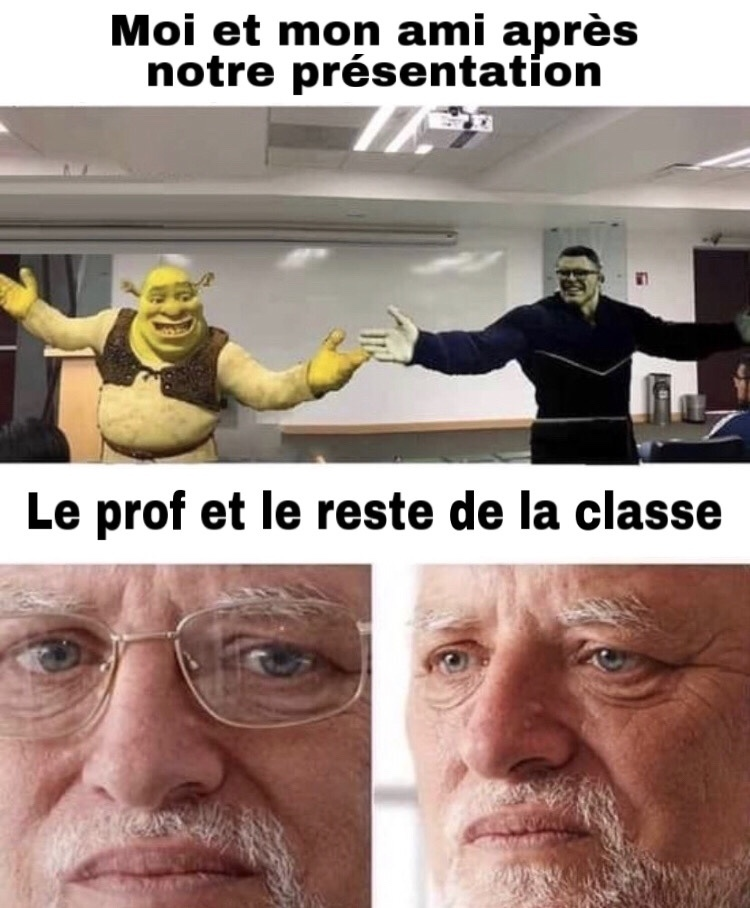 PowerPoint ou Google slide ? - meme