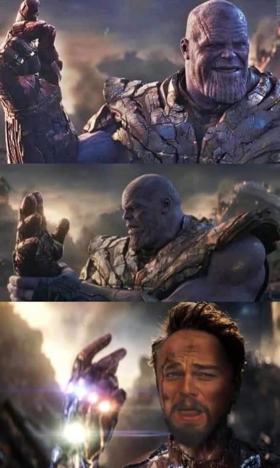 Thanos is a purple niBBa. - meme