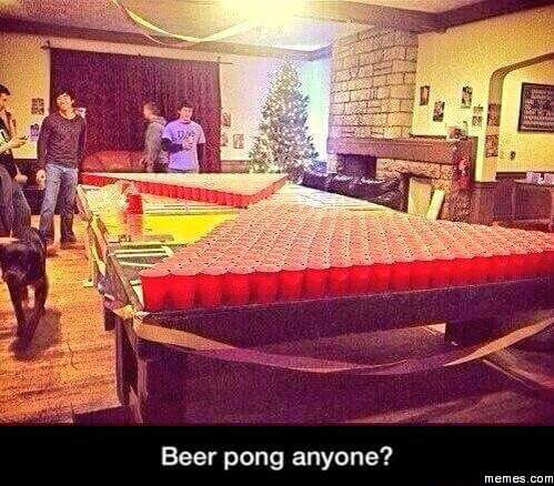 The ultimate challenge! You would probably die from alcohol poisoning.. - meme