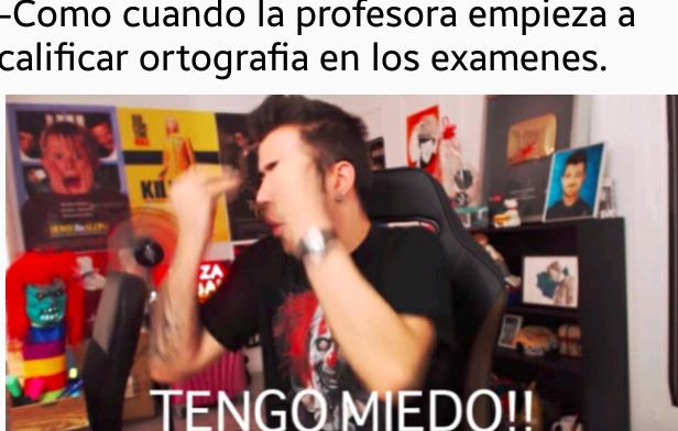 TENGO MIEDO! - meme