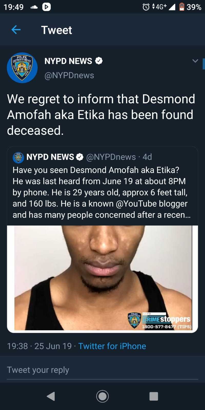 We lost etika lads, its confirmed. - meme