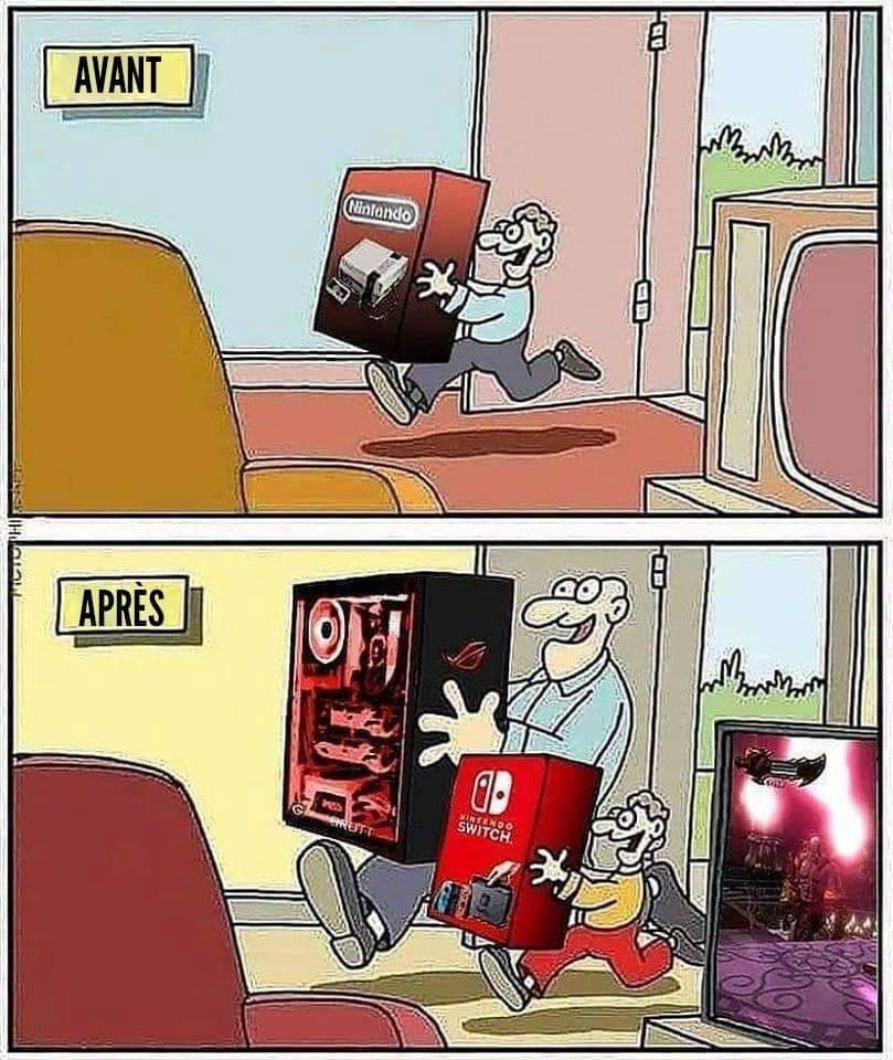 Switch *.* - meme