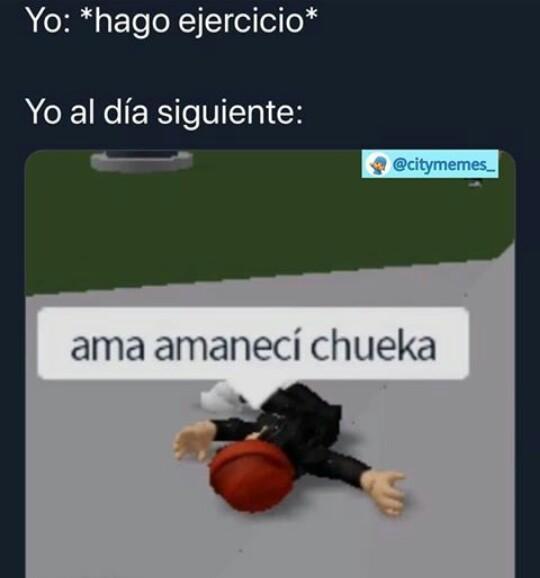 Ama amaneci chueka - meme