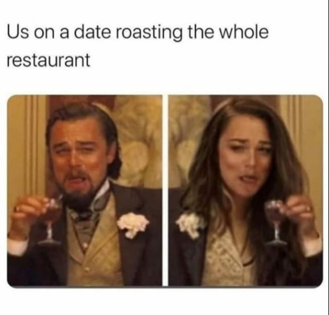 Equal roasting - meme