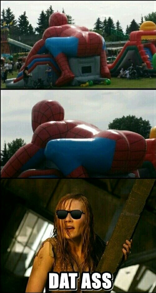 Spidey ass - meme