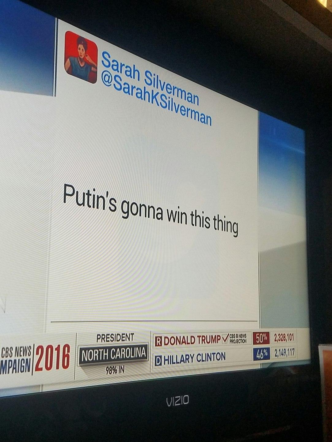 Classy Election Coverage - meme