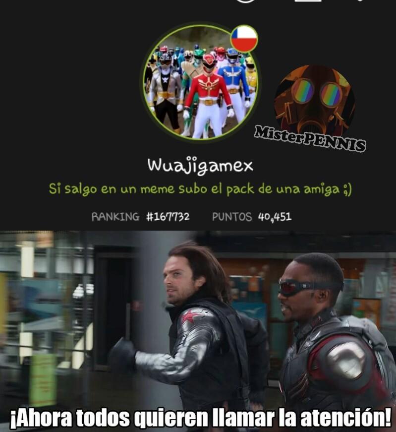 Free plantilla, los quiero :3 - meme