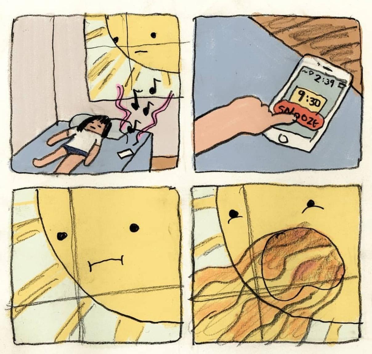 Who needs sleep anyway - meme