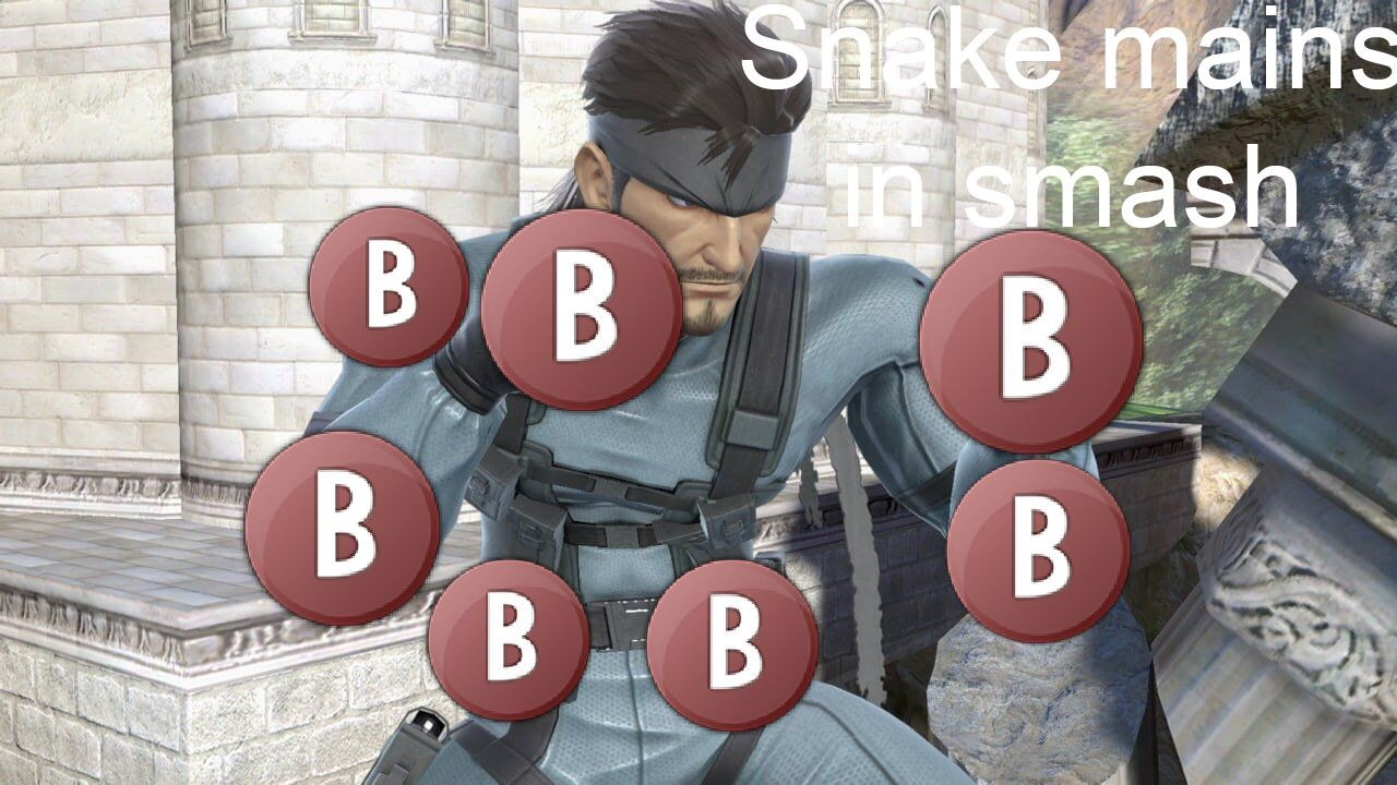 Snake mains in a nutshell - meme