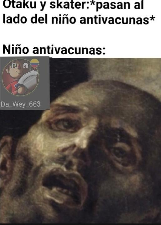 Los niños antivacunas - meme