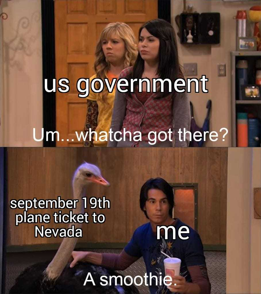 And parachute is just in case the plane gets hit by something - meme