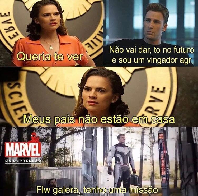 título foi atrás da Peggy - meme