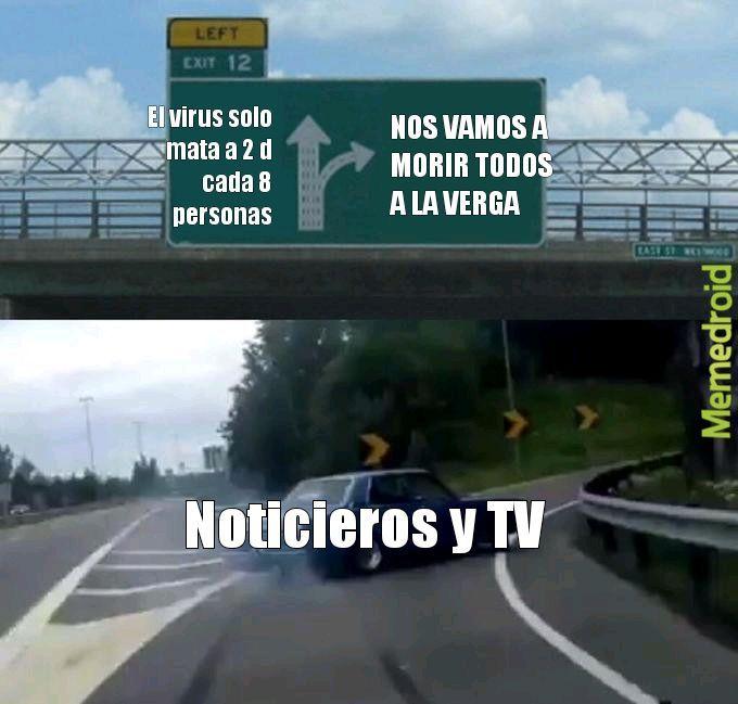 NO VAMOS A MORIR TODOS - meme