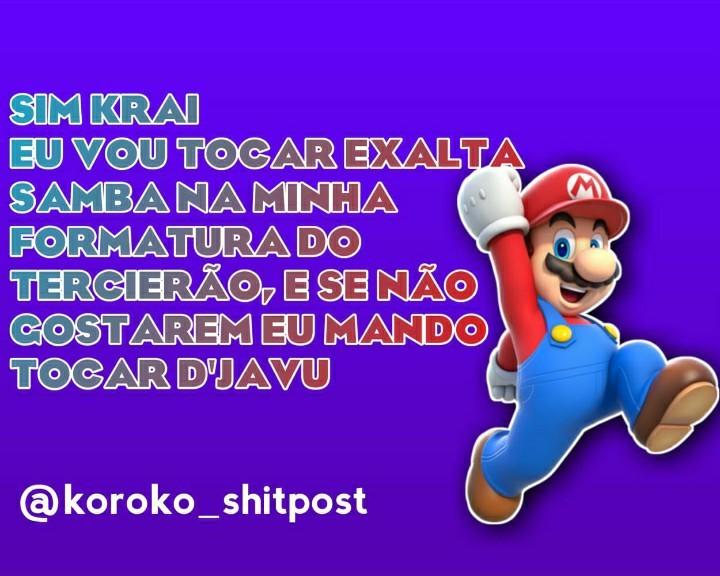 Mario pagaydeiro - meme