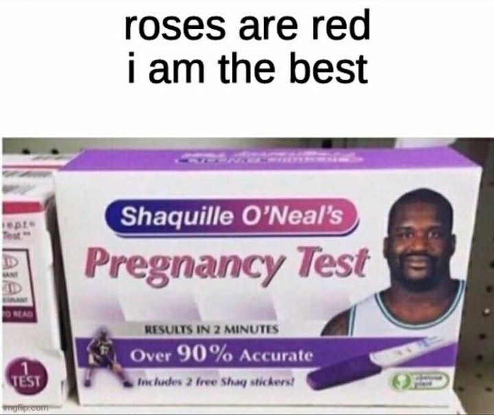 Some shit pregnancy test - meme