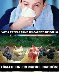 Caldito de pollo - meme