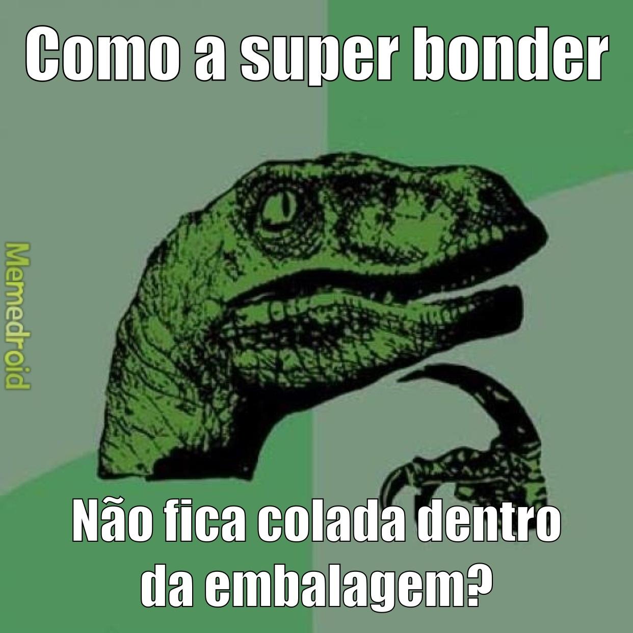 Philosoraptor Super Bonder - meme