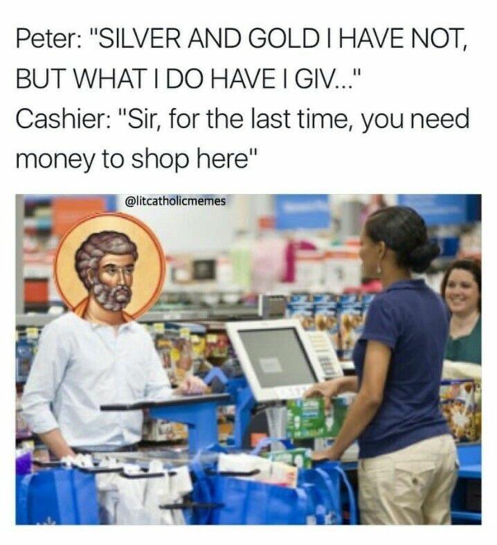 St Peter - meme