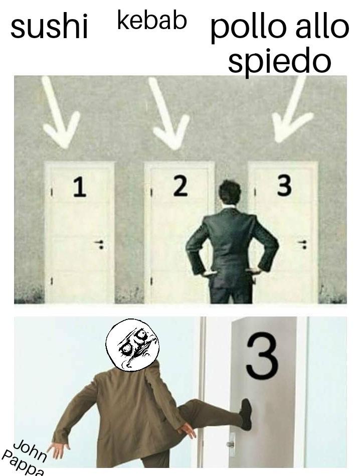 Scelte - meme