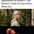 First, they cast the prettiest man on the planet to play Geralt and now this...