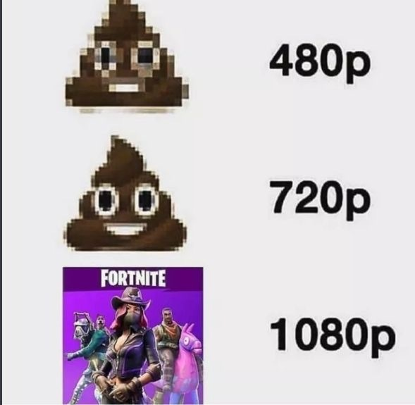 Fortnite shit - meme
