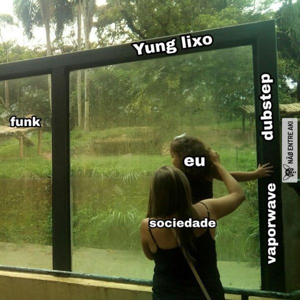 Yung lixo parece o gemaplys - meme