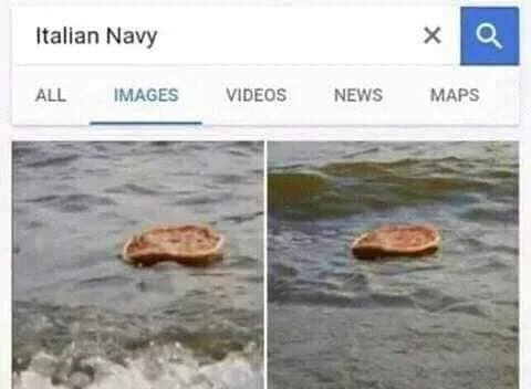 Italian Navy - meme