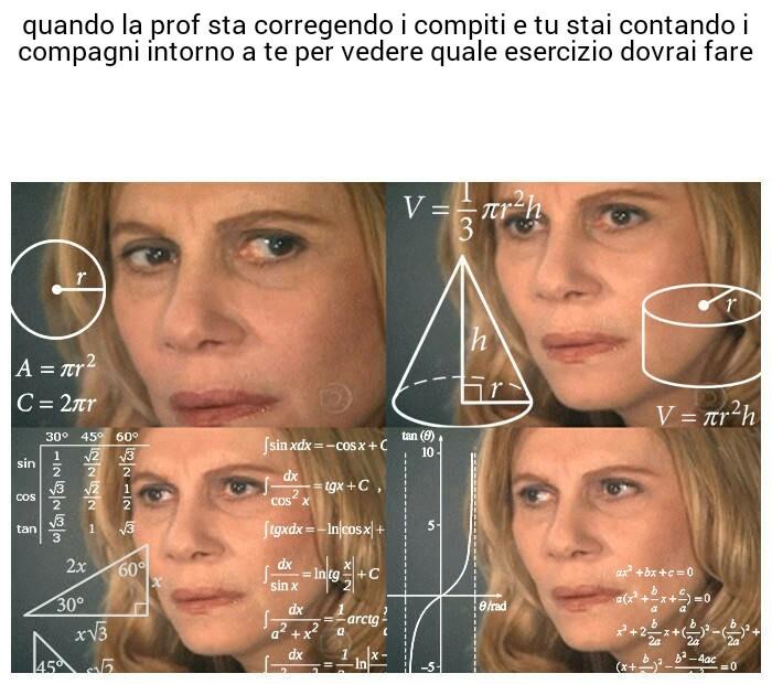 Matematico - meme